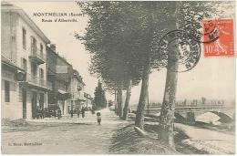 CPA 73 - Montmélian - Route D'Albertville - Montmelian