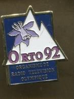 Pin´s - ORTO Organisme De Radio Télévision Olympique - Jeux Olympique Média - Olympic Games