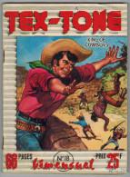 TEX TONE N° 18  BIMENSUEL IMPERIA Janvier 1958 - Petit Format