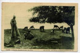 Egypte--LE CAIRE-1937--Un Berger Indigène (moutons) Au Bord Du Nil --carte Sépia Animée--n° 607 D--23 Postcard Trust - Le Caire
