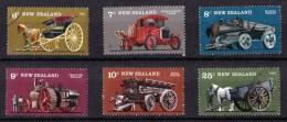 New Zealand 1976 Vintage Farm Transport Set Of 6 Used - New Zealand