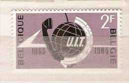 BELGIUM ** & Cent. Da União Intern. Das Telecomunicações 1965 ( 1333) - Télécom