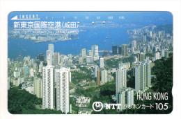 HONG KONG Télécarte Japonaise - Hong Kong