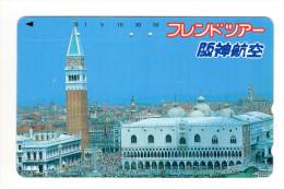 ITALIE VENISE Télécarte Japonaise - Italia