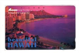 HAWAII  Télécarte Japonaise - Hawaï