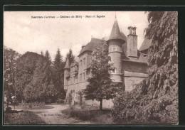 CPA Sarran, Chateau De Bitty, Parc Et Facade - Frankrijk