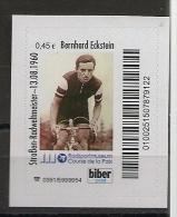 Privatpost -  Biberpost  - Radsportler  Eckstein (Werte: 0,45  EUR) - Ciclismo