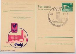 DDR P84-34a-83 C42-a Postkarte Zudruck EM VOLLEYBALL Suhl Sost. 1983 - [6] République Démocratique