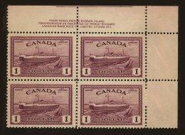 Canada Scott #273, 1946, Never Hinged - Neufs