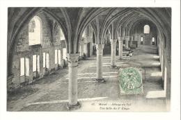 Cp, 95, Mériel, Abbaye Du Val, Une Salle Du 1er étage, Voyagée 1907 - Meriel