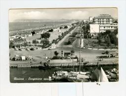RICCIONE,lungomare,spiaggia-1961-Benzina BP-Pescherecci.!!!!!!!!!!!! - Rimini