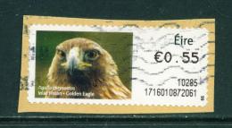 Wholesale/Bundleware  IRELAND - 2010 Post And Go Label  Golden Eagle (Values And Usage Vary)  Used X 10 - Automatenmarken (Frama)