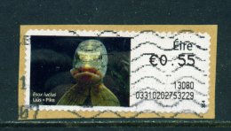 Wholesale/Bundleware  IRELAND - 2012 Post And Go Label  Pike (Values And Usage Vary)  Used X 10 - Automatenmarken (Frama)