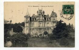 CP , 49 , SAUMUR , Le Château De Moc-Baril - Saumur