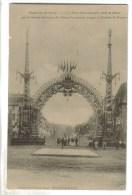 CPA NANCY (Meurthe Et Moselle) - Exposition De Nancy : La Porte Monumentale Offerte Par Aciéries De Pompey - Nancy