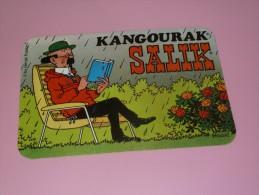 AUTOCOLLANT KANGOURAK SALIK HERGE PROFESSEUR TOURNESOL équipe Tintin - Stickers