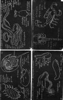 7 CPA.Illustration J.M Valton.Tableau Noir.La Ménagerie.Omnivores.Reptiles.Bêtes Suspectes. - Animals