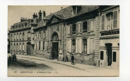 CP , 80 , ABBEVILLE , Hôtel De Ville - Abbeville