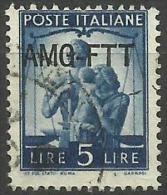Trieste Zone A - 1949 Work, Justice & Family 5L FU   SG 106  Sc 61 - 7. Trieste