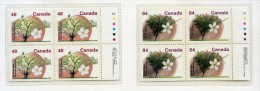 Canada **  N°  1225a à 1226a - Arbres Fruitiers - Carnet - 1952-.... Reinado De Elizabeth II