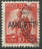Trieste Zone A - 1949 Work, Justice & Family 10L FU   SG 109  Sc 64 - 7. Trieste