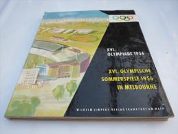"""""""XVI. Olympiade 1956 Sommerspiele Melbourne"""" Vom Deutschen Sportbund - Bücher"""