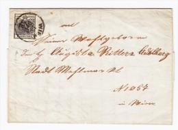 Österreich - 1850 Mi.# 2 Auf Brief Aus Wien  - Mit Inhalt - Briefe U. Dokumente