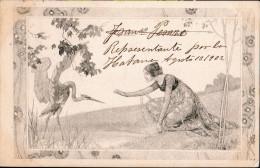 CPA.Illustrateur.Carte Viennoise.M.M.Vienne.Envoyée De Havanne(Cuba).1902. - Illustratoren & Fotografen