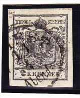 Österreich - 1850 Mi.# 2 Gestempelt - Gebraucht