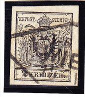 Österreich - 1850 Mi.# 2 Gestempelt - 1850-1918 Imperium