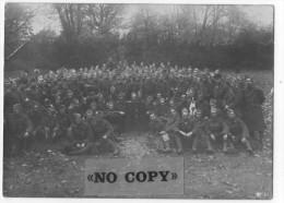 PHOTO  317 Régiment D'infanterie  (  Poilus 14 / 18 ) Format 165 Par 120 - War, Military