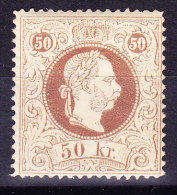 Österreich - 1867 Mi.# 41IIE ** Feiner Druck Zähnung 13 - 1850-1918 Imperium