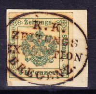 Österreich - 1853 Zeitungs Stempel Bregenz - Gebraucht