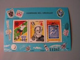 == Uruguay , 1976  Bl. 29 ** MNH Mi. 55,00  Fußball - Uruguay