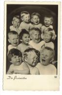 Montage Photo, Enfants Die Pessimisten - Cartes Humoristiques