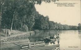 76 FORGES LES EAUX / L'Etablissement Thermal, Le Lac, L'Embarcadère / - Forges Les Eaux