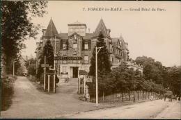 76 FORGES LES EAUX / Le Grand Hôtel Du Parc / CARTE GLACEE - Forges Les Eaux