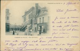 76 FORGES LES EAUX / La Rue Bréviaire / - Forges Les Eaux