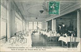 76 FORGES LES EAUX / La Station Thermale, La Salle à Manger Du Grand Hôtel Du Parc / - Forges Les Eaux