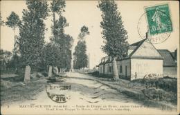76 HAUTOT SUR MER / La Route De Dieppe Au Havre, L'Ancien Cabaret D'Hautot / - Francia