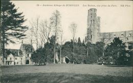 76 JUMIEGES / L'Ancienne Abbaye De Jumièges, Les Ruines Vue Prise Du Parc / - Jumieges