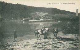 76 JUMIEGES / Les Bords De La Seine / - Jumieges