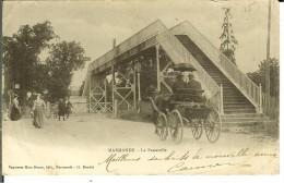CPA  MARMANDE  La Passerelle 10211 - Marmande