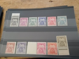 LOT 207890 TIMBRE DE FRANCE NEUF* - 1859-1955 Lettres & Documents