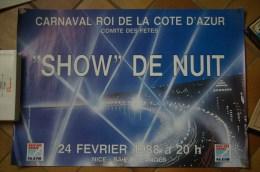 Carnaval De Nice. Affiche 1988 - Carnival