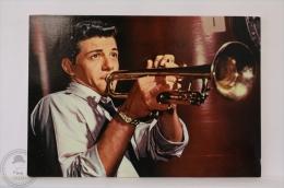 Original & Rare 1960s Postcard - Frankie Avalon - Edited Oscarcolor, Printed In Spain - Schauspieler