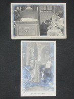 Ref2830 WA Lot De 11 Cartes Photos - Conclave - Léon XIII Pie X - Cérémonie Chrétienne - Vote Nouveau Pape - Papes