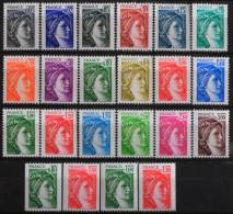 FRANCE 1977-78 - Du N° 1962 Au 1981B  - 22 Timbres Neufs** Y&T 17,60€ - France