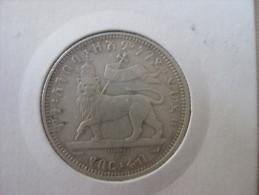 1/4 Birr 1895 EE - Ethiopie