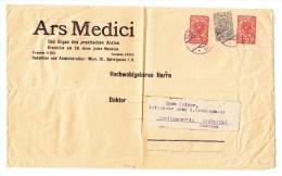 Österreich - Ganzsachenbrief 2 X 10 H. Rot + 1 X 5 H. Grau Nach Eichsfeld D - Ganzsachen